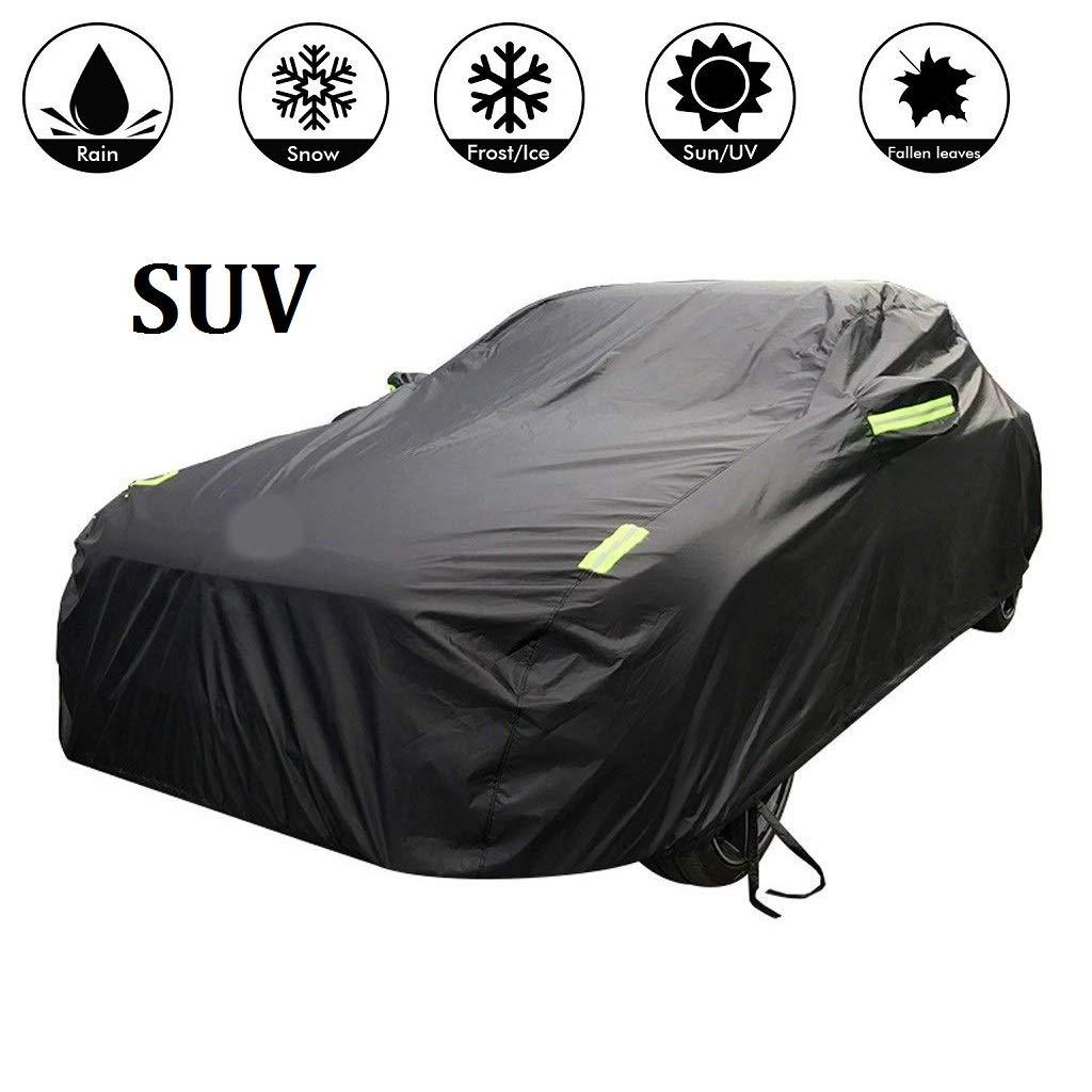 Sailnovo Funda para Coche SUV Exterior Impermeable Negro 4.8 * 1.9 * 1.8m product image