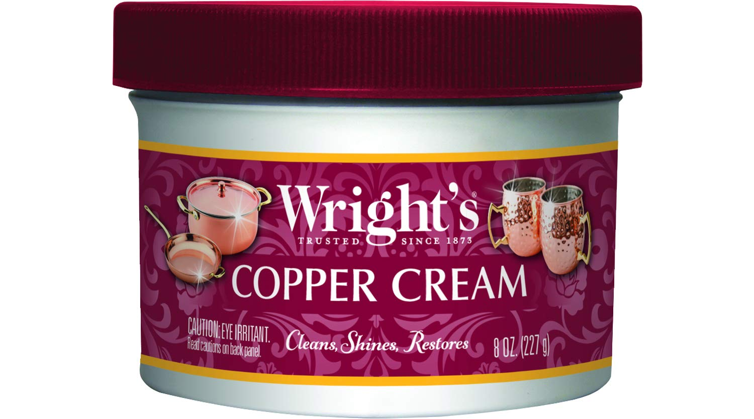Small Product Image of Wright's Copper and Brass metal Cleaner (Cream)