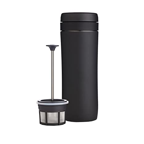 ESPRO® Travel Press con Filtro de café, Acero Inoxidable, Negro ...