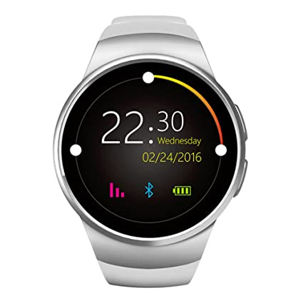 Amazon.com: SMARCENT KW18 Smart Watch Support for Both IOS ...