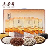 China Good Food Chinese Rice(五芳斋 五谷杂粮2565g{礼盒装} Whole grains)Raw material五芳齋 红米/黑米/糯米/薏仁米/黄小米/黄豆