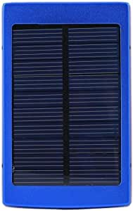 30000mAh Solar Power Bank colour blue