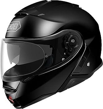 Shoei Casco Convertible Moto Neotec 2 Plain Negro (Xxl, Negro)