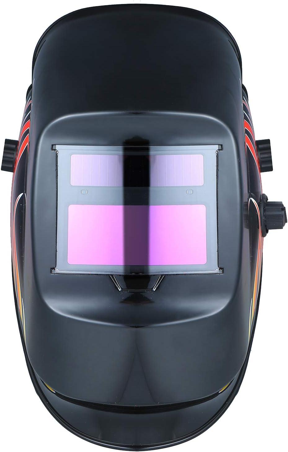 KKmoon Máscara de soldadura de oscurecimiento automático TIG MIG MMA MAG KR KC Cascos de soldadura eléctrica Tapa de soldador para máquina de soldar
