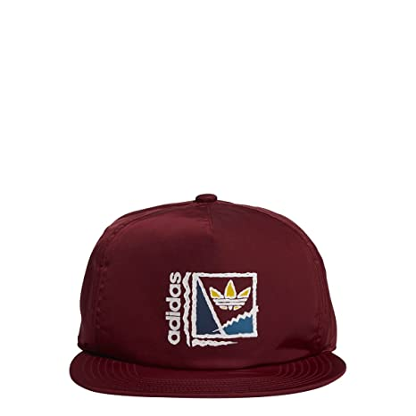 Image Unavailable. Image not available for. Color  adidas Men Skateboarding  courtcrusher Hat Collegiate Burgundy b8281c52bb4