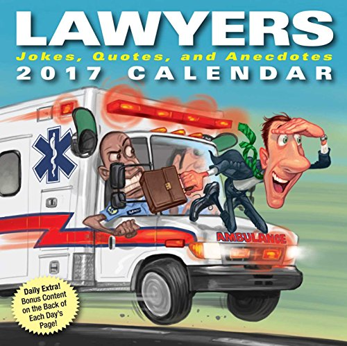 Lawyers 2017 Day-to-Day Calendar cover