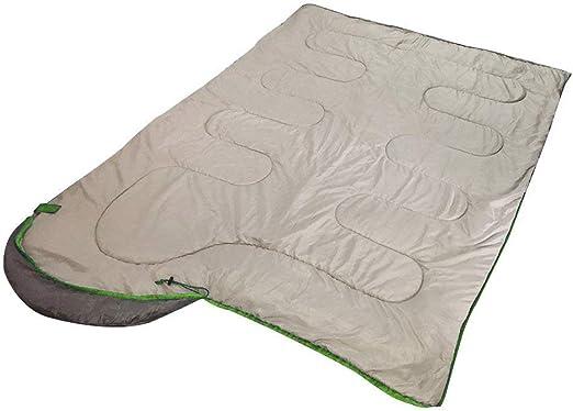 Gran Confort//Acabado Perfecto//Soporta H/úmeda Temperatura Baja verde Saco Calentito de Dormir