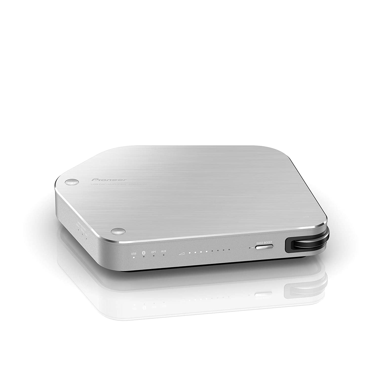 Pioneer(パイオニア)Stellanova Bluetooth対応 ハイレゾオーディオ USB DACアンプ単体 シルバー APS-DA101JS B01D45S6F8 シルバー