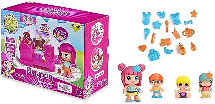 Pinypon - Pack Infantil Tienda De Chuches + Pinypon Pack de 4 ...