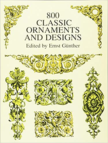amazon 800 classic ornaments and designs dover pictorial archive