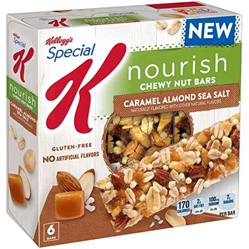 Caramel Cereal (Special K Nourish Chewy Nut Bars - Caramel Almond Sea Salt, 6 ct)