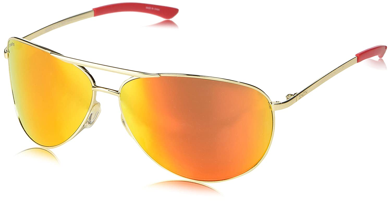 Smith Serpico 2 ChromaPop Sunglasses, gold, Sun Red Mirror Lens