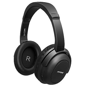 Mpow H8 - Auriculares Bluetooth con cancelación de Ruido Activa, compactos, Tanto con Cable