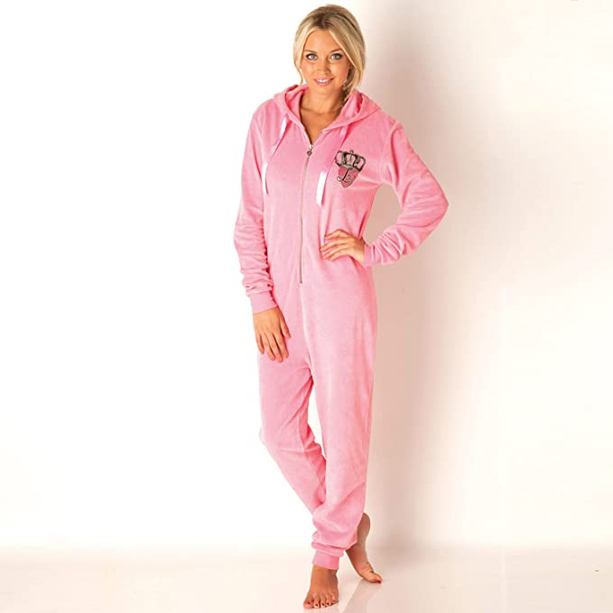 Lipsy pijama completo Queen of Everything para mujer (rosa)