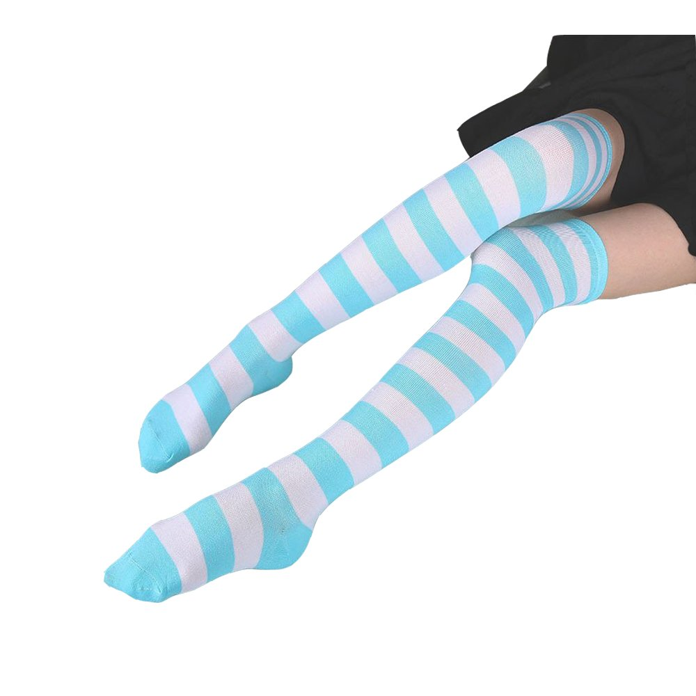Hot Cute Japanese Style Blue& pink Stripe Panties Bikini Cosplay Cotton Underwear