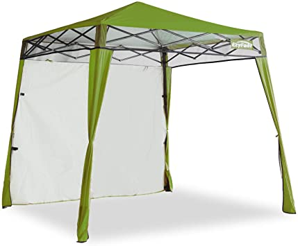 Coleman 10x10 Instant Canopy Screen House Shade Tent Beach Camping Picnic RED