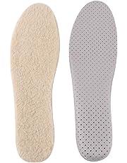 TMISHION Plantillas de Zapatos, Lana de Fieltro Aumento de la Altura Plantillas del Elevador EVA Elevación del talón Zapatos de inserción Almohadilla de Invierno Plantillas cálidas