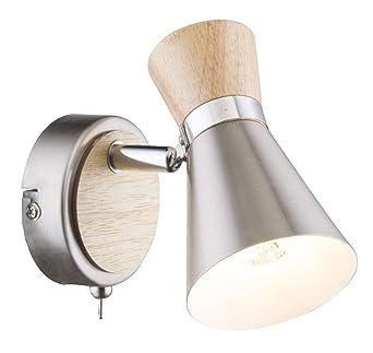 Spot Mural 1 Ampoule Intérieure Lampe Avec Interrupteur Mural De