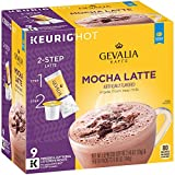 keurig coffee cheap - Gevalia Mocha Latte Espresso Coffee K-Cup Packs & Froth Packets 9 Count Box