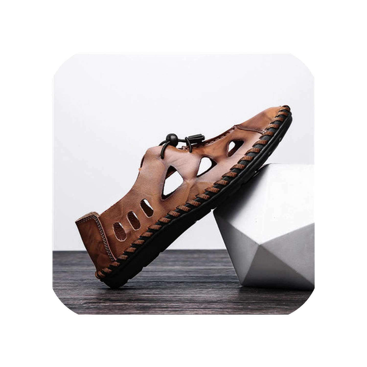 Brown Style Sandals Breathable Hole Outdoor Men shoes