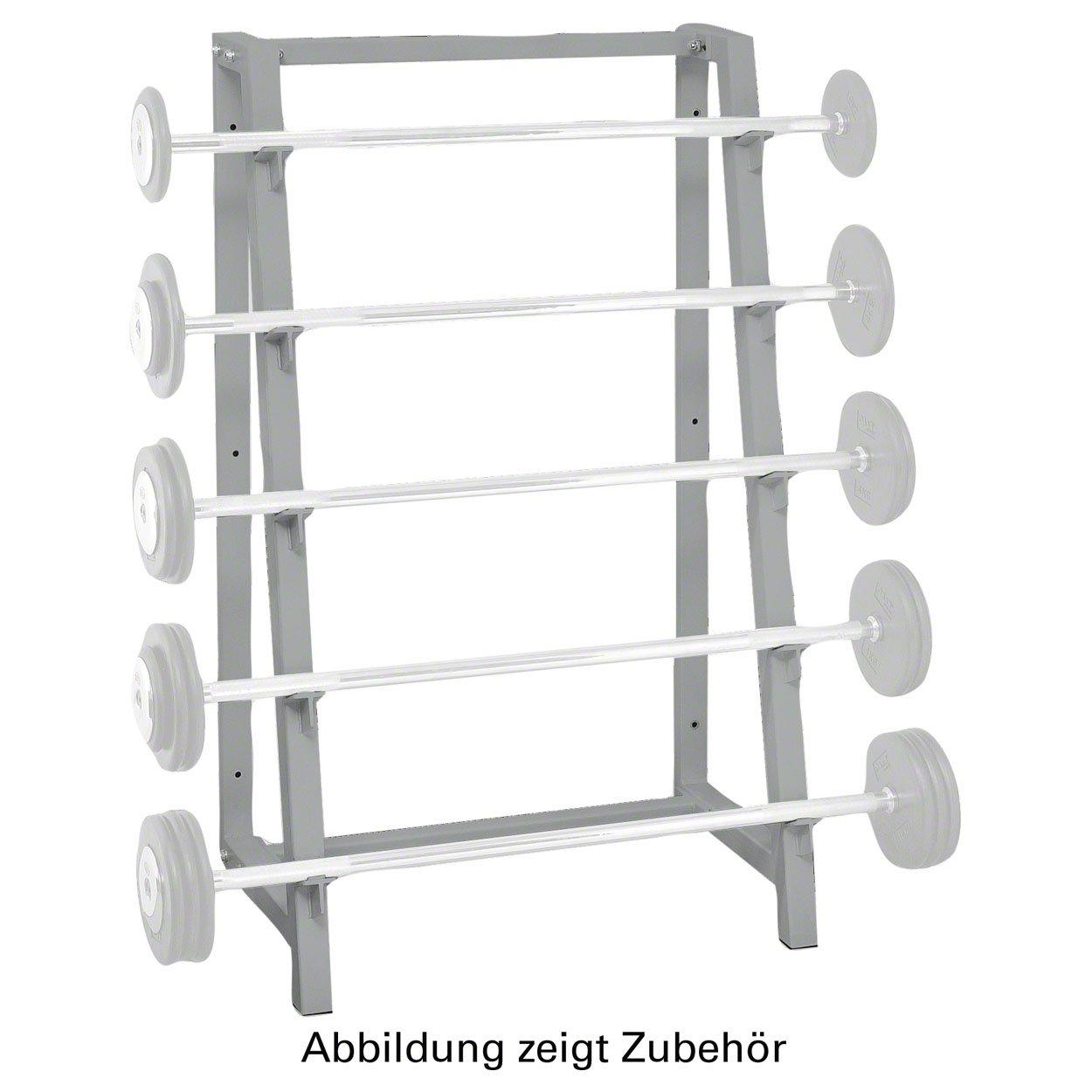 Langhantel-Ständer Hantelständer Langhantelständer für Fitnessstudios 5 Ablagen