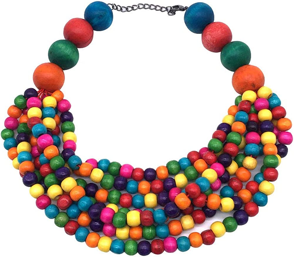 Halawly Multicolored Beaded...