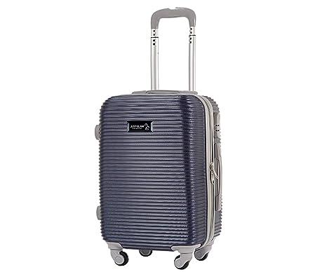 Maleta cabina 50 cm. 4 ruedas trolley cascara dura adecuadas para vuelos de bajo coste art 1165/pequegno azul