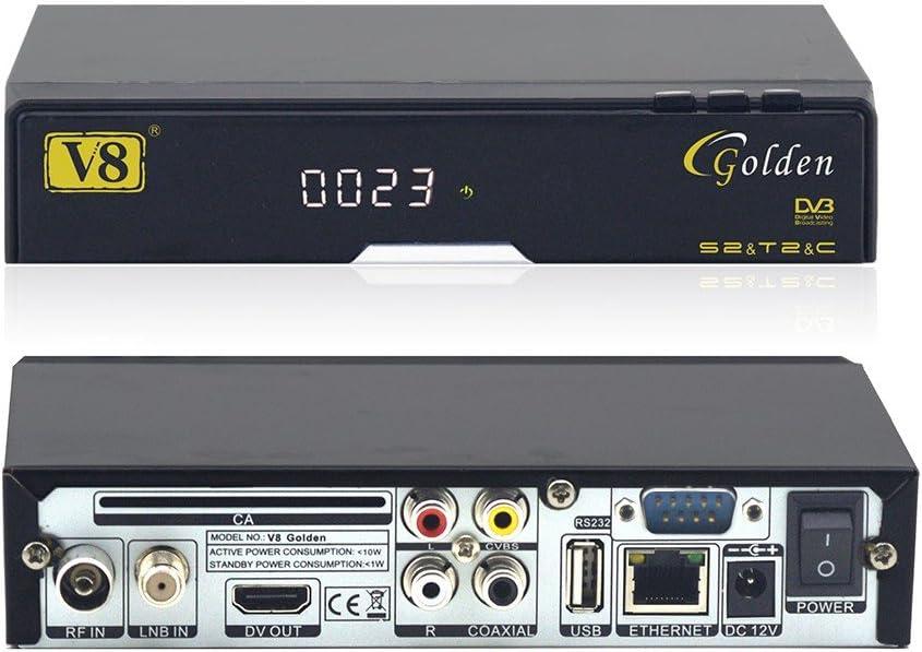 FREESAT V8 GOLDEN + ANTENA USB WIFI OFICIAL: Amazon.es ...