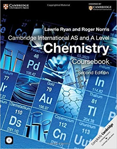 Book Cambridge International AS and A Level Chemistry Coursebook with CD-ROM (Cambridge International Examinations) by Ryan, Lawrie, Norris, Roger (September 15, 2014)