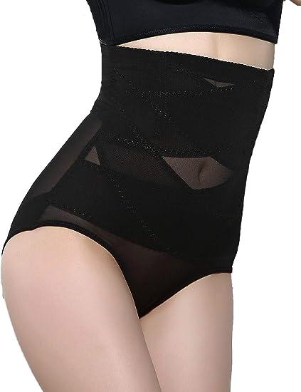 fc0c644772 Vaslanda Womens Seamless Control Panties High Waist Underwear Tummy Control  Shapewear Bodysuit Breathable Briefs Body Shaper