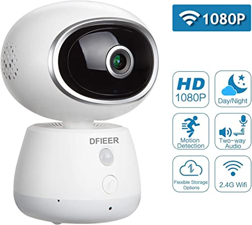 1080P HD Baby Pet Nanny Monitor