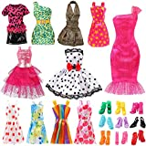 Bigib Set for 11 inches Barbie Ba-Girl Fashion Dolls Clothes Accessories