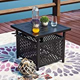 LOKATSE HOME Patio Umbrella Table Stand with