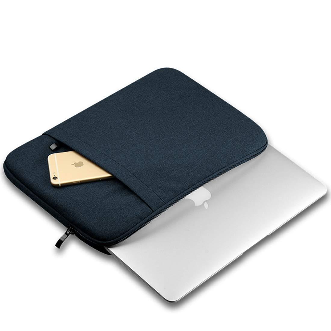Mkulxina Bolsillo de Bolsillo Bolsillo de Bolsillo de Protector de poliéster Vertical Impermeable para computadora portátil Compatible con MacBook Pro de 13 Pulgadas, MacBook Air, computadora portátil 7a3886