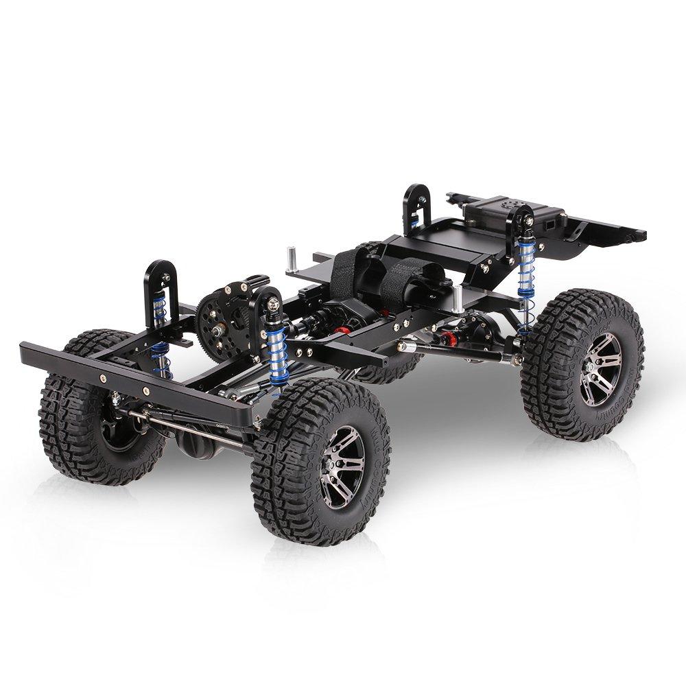 Goolsky AX-D9001 Alle Metall CNC Rahmen für 1 10 D90 Rock Crawler RC ...