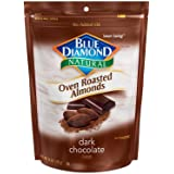 Blue Diamond Oven Roasted Almonds, Dark Chocolate, 14 Ounce