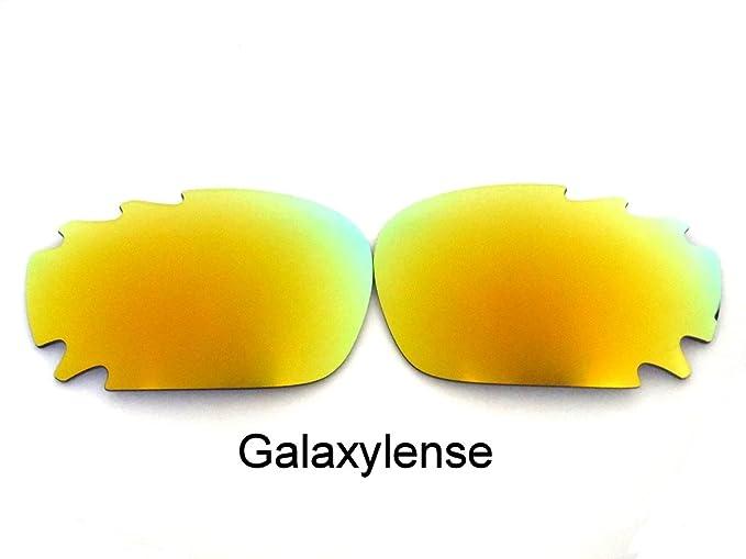 Galaxy Lentes De Repuesto Para Oakley Racing Jacket Polarizados Dorado,GRATIS S&H - Transparente,