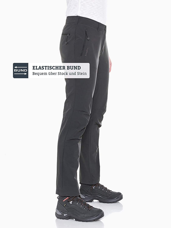 Schöffel Schöffel Schöffel Pants Engadin Damen Outdoor Hose, strapazierfähige Wanderhose für Frauen, wasserabweisende Damen Hose mit sportlichem Schnitt B01NCP09JP Hosen Preiszugeständnisse f2b9ea