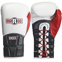 Ringside Pro Style Tech IMF Encaje Boxeo Kickboxing Muay Thai Guantes de Entrenamiento Sparring Boxeo