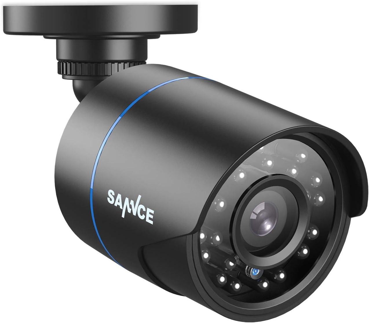 Sannce 1080p Bullet Überwachungskamera Für Ahd Tvi Cvi Cvbs Dvr Überwachungssytem Ip66 Wasserdicht Outdoor Analogkamera Mit 100 Fuß Nachtsicht Baumarkt