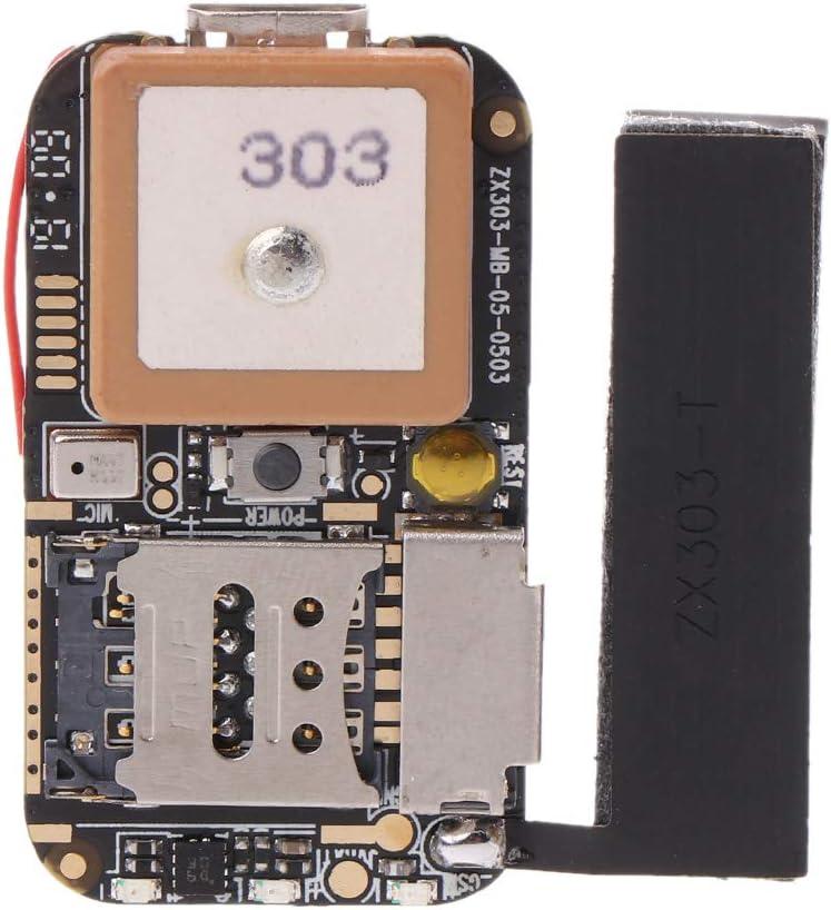 Shorecofei Super Mini Gr/ö/ße GPS Tracker GSM AGPS WiFi LBS Locator Kostenlose Web-App Tracking Voice Recorder ZX303 PCBA Inside