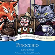 Pinocchio Audiobook by Carlo Collodi Narrated by Donal Donnelly