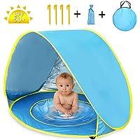 Nice2You Carpa para niños Tienda de campaña para niños Pop-up con Piscina de bebé