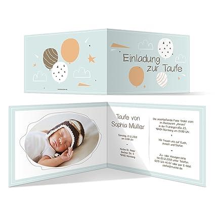 Bautismo tarjetas de invitación Bautizo tarjeta individuales ...