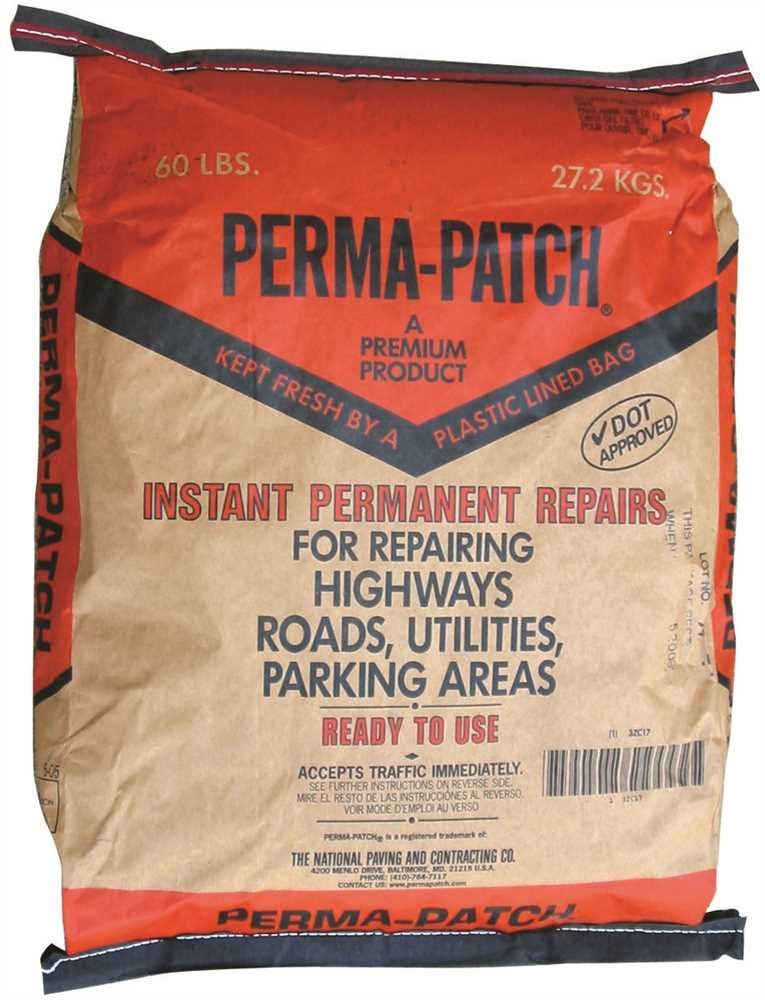 PERMA-PATCH GIDDS-800963 Perma-Patch Asphalt Repair, 60 lb