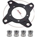 Bafang Mid Drive Moto - Adaptador de cadena giratoria de aleación de aluminio 104 BCD para bicicleta eléctrica y…