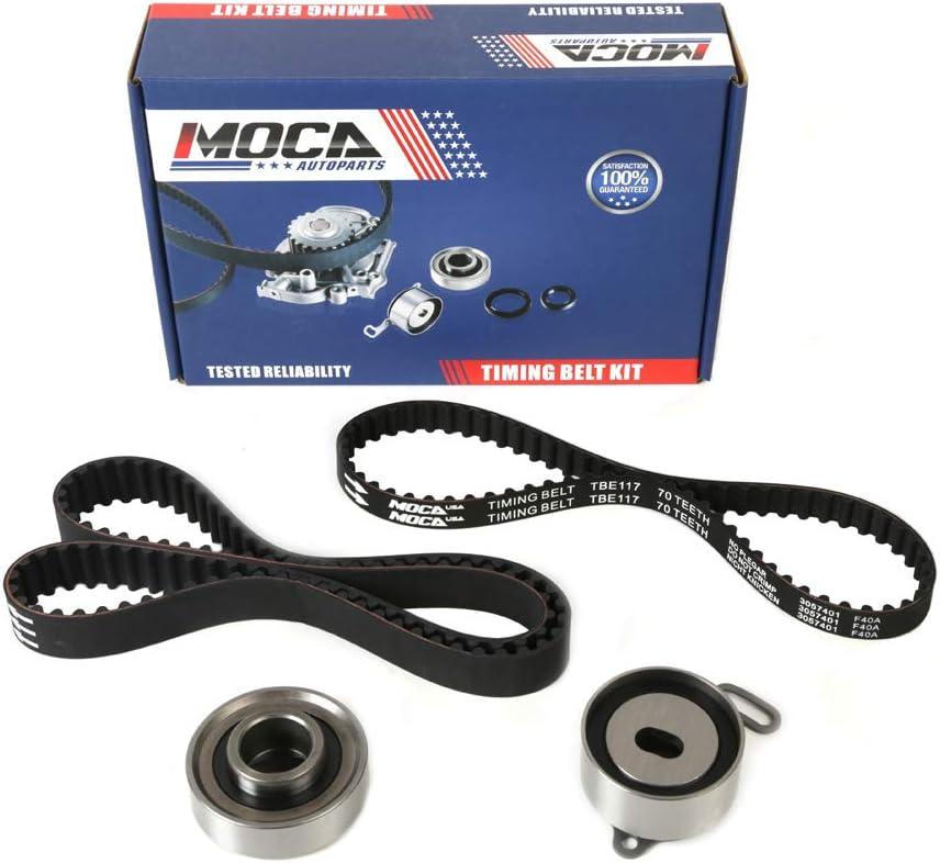 MOCA Timing Belt Kit for 1994-2002 Honda Accord /& 1997-1999 Acura CL /& 98 99 Isuzu Oasis 2.2L 2.3L F23A F22B1 Engine