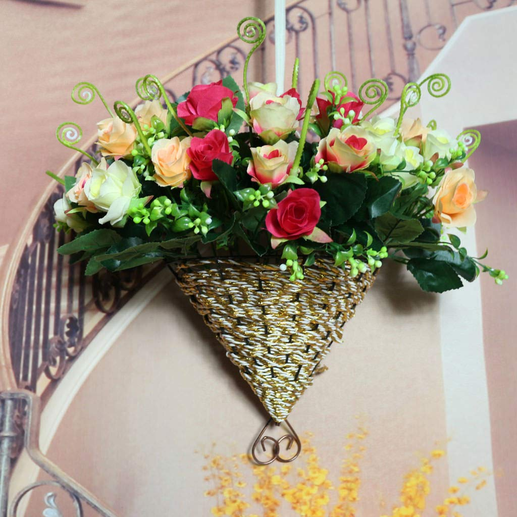 Pot Flexible Hanging Basket Planter Home Decoration Garden Flower