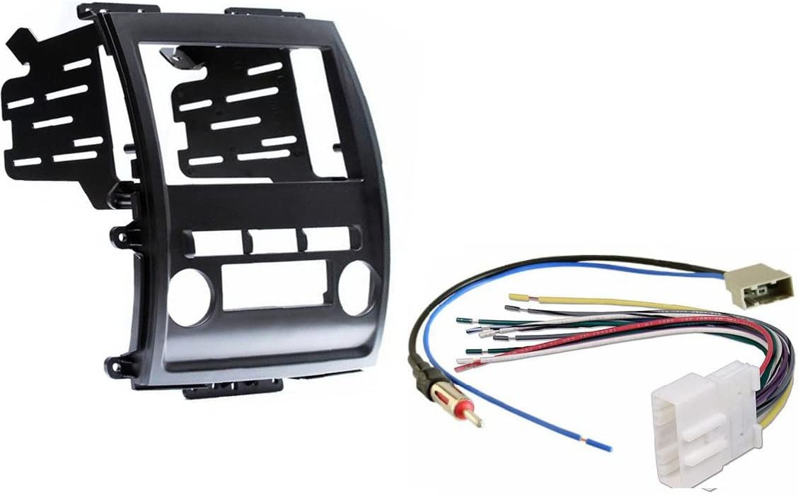 Amazon.com: Aftermarket Radio Stereo Double Din Dash Kit w/Wire Harness &  Antenna Adapter Compatible with Nissan Frontier Xterra 2009-2012: Car  ElectronicsAmazon.com