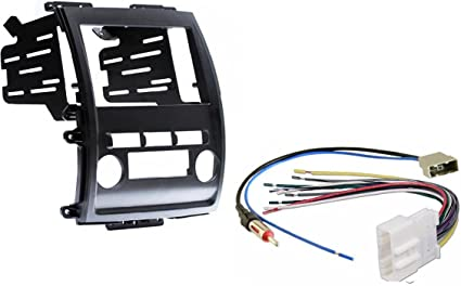 [DIAGRAM_3ER]  Amazon.com: Aftermarket Radio Stereo Double Din Dash Kit w/Wire Harness &  Antenna Adapter Compatible with Nissan Frontier Xterra 2009-2012: Car  Electronics | 2015 Nissan Xterra Radio Wiring Harness Diagram |  | Amazon.com